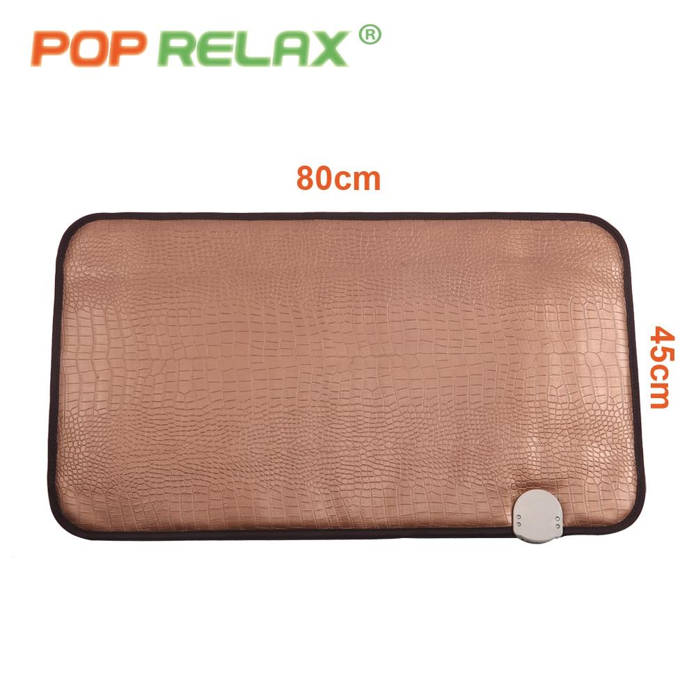 POP RELAX turmalin sten massage mat anion långt infraröd värme - Sjukvård - Foto 5