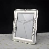 Good Quality Luxury Silver Plated Metal Photo Frame Picture Frames MPF003