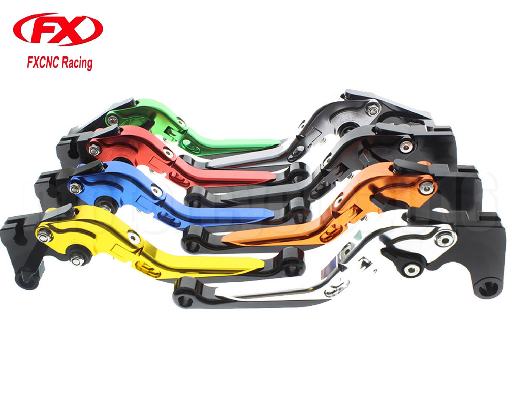 FXCNC Foldable/Extendable Moto Motorcycle Brake Clutch Levers For Yamaha XJ6 DIVERSION 2009-2015 Hydraulic Brake Lever