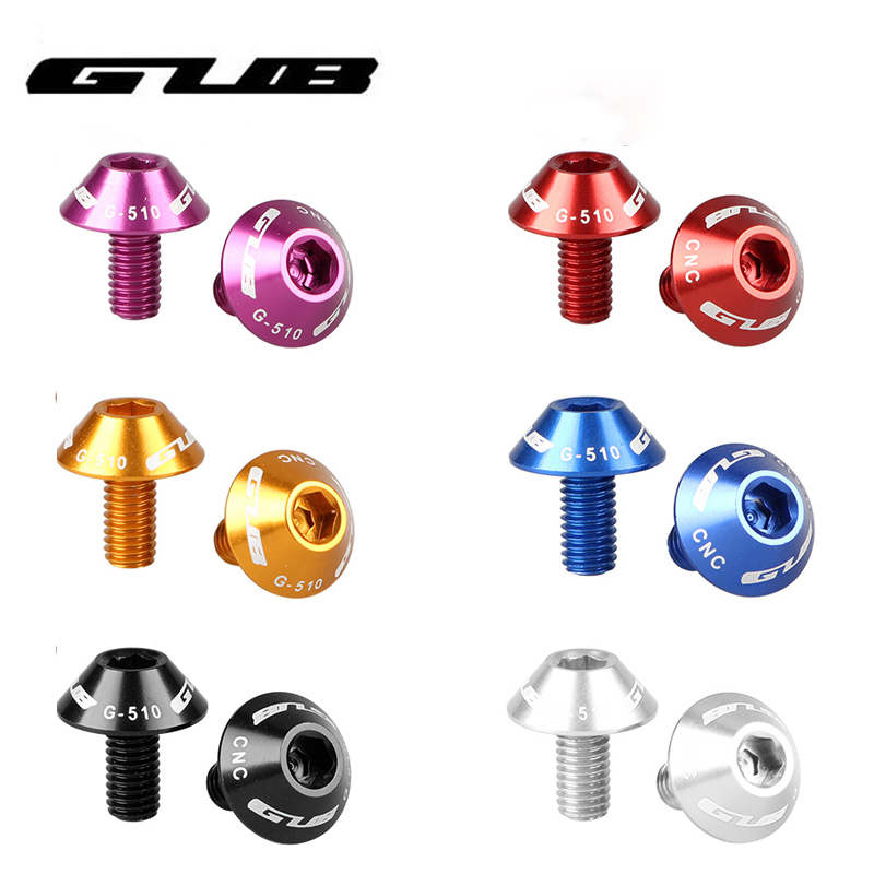 2 x Alloy Water Bottle Cage Bolt 5 x 12mm Screws for Mountain Bike Bicycle