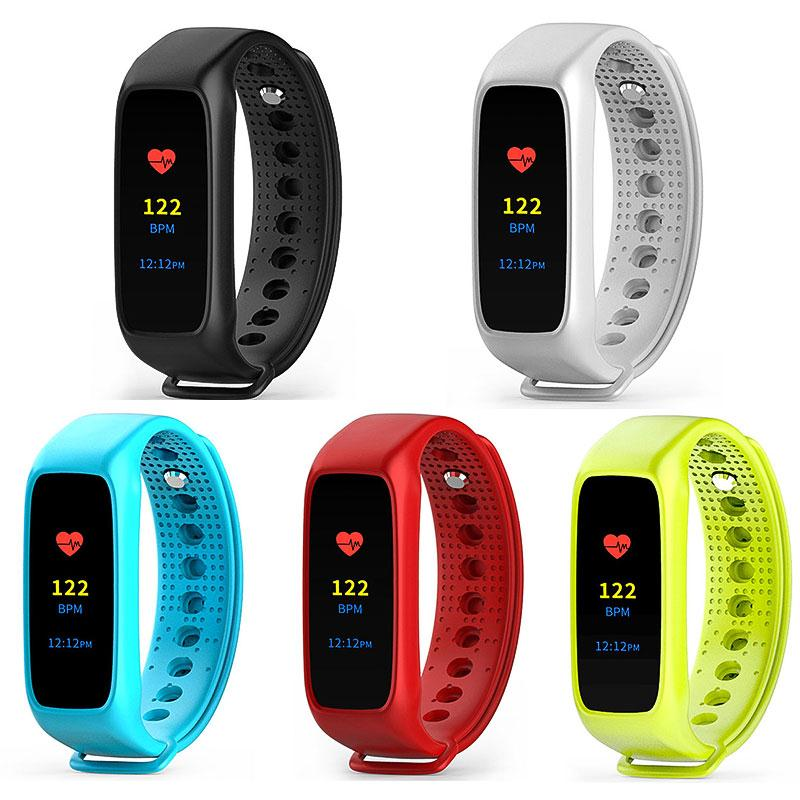Original L30t <font><b>Bracelet</b></font> <font><b>Bluetooth</b></font> Smart Band Heart Rate Monitor <font><b>Vibration</b></font> Pedometer <font><b>LCD</b></font> Screen Smartband For Android iOS Gifts