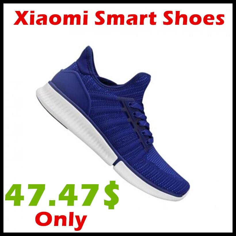 Original Xiaomi Mijia Shoes Fashionable Design Replaceable Waterproof IP67 Sport Running Shoes (Not Including Smart Chip)