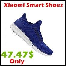 Оригинальный Xiaomi mijia чип Обувь модные Дизайн Сменные Водонепроницаемый IP67 телефон приложение Управление Спорт Кроссовки для бега