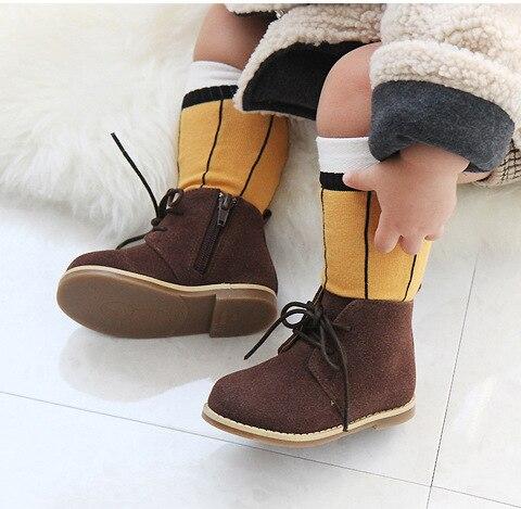 243cee8b6ef 2018 Just like a Pencil Baby Knee High Socks Anti Ship Long Boot Socks Cute  Kids NewBorn Boys Girls Socks Cotton Pairs 0-4 Years