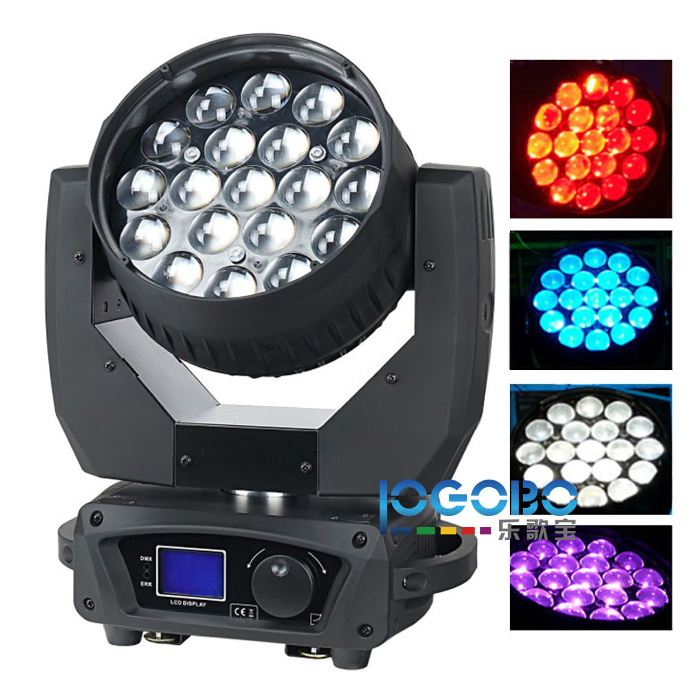 Us 4439 26 10pcs Lot Moving Head Beam 19x15w Rgbw Led Wash Light Zoom Sharpy Band Stage Lighting Fixtures Dj Lights For Free Shipping In