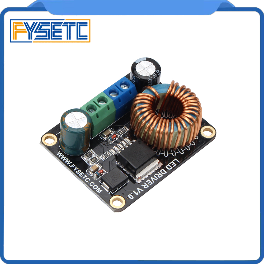 DLP Boost LED drive board 60V/5A 30W Constant Current Driver for LED Lighting TFT Backlighting SLA UV cured 3d printer parts