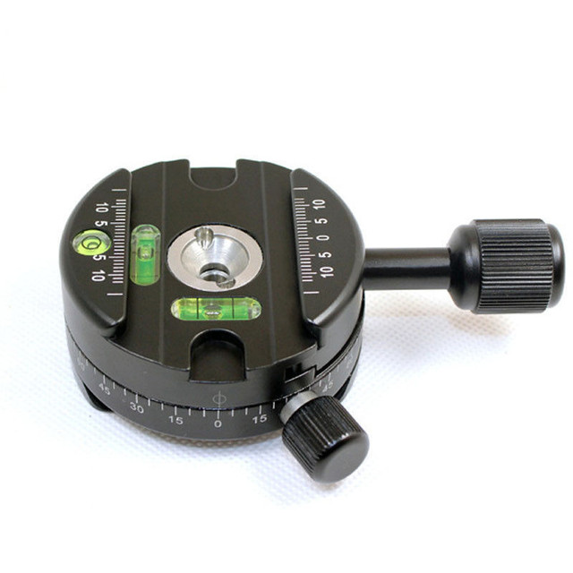 Panning Clamp X 64 Quick Release Clamp With A QR Plate Panoramic Ball Head Arca SUNWAYFOTO RRS Panoramic Tripod