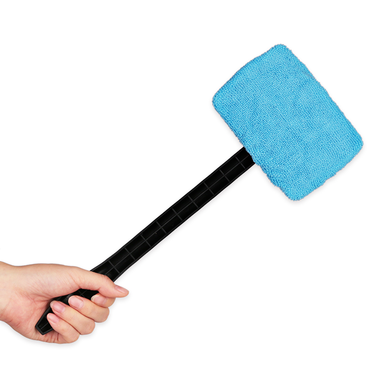 Urbanroad Microfiber Auto Window Cleaner Long Handle Car Washable Brush Car Windshield Wiper Cleaner Cloth Clean Tools