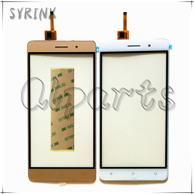 Syrinx Anteriore Del Telefono Cellulare Touchscreen In Vetro Per Bluboo Maya Touch Screen Digitizer Pannello Con Nastro Trasporto Libero del Rimontaggio