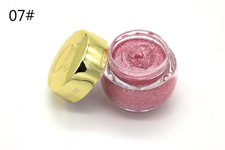 Love Alpha Single Color Eye Shadow Gel Eyes Makeup Glitter Nude Eyeshadow 16 Color EyeShadow Palette Shining Bright Brand Makeup (10)