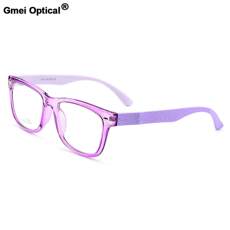 Gmei Optical Urltra-Light TR90 Full Rim Men's Optical Eyeglasses Frames Women's Plastic Myopia Eyewear 7 Colors Optional M1014