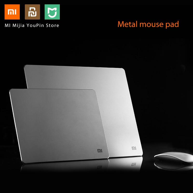 Xiaomi MI Original Metal Aluminum Alloy Mouse Pads Anti-skid  Slim Mouse Pad PC Computer Laptop 300*240*3mm/240*180*3mm