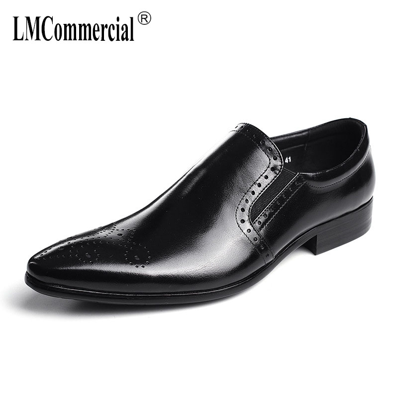 genuine leather cowhide men casual natural loafers High Quality Genuine Leather Shoes Men Business