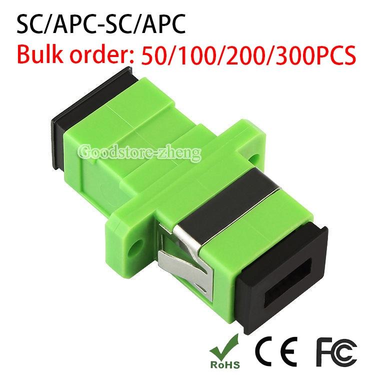 SC APC Simplex mode Fiber optic Adapter SC APC Optical fiber coupler SC Fiber flange SC APC connector