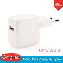 2.4A Fast Charging Original Euro iPad Charger Genuine 12W USB Power Adapter for iPad Mini iPhone 5s 6 6s 7 Plus iPod for EU