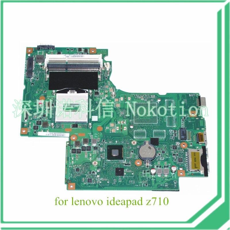 DUMBO2 MAIN BOARD rev 2.1 For lenovo ideapad Z710 Laptop motherboard 17.3 inch Intel GMA HD 4600 for lenovo ideapad g710 z710 motherboard dumbo2 rev2 1 mainboard gt745 2g non intergated 100