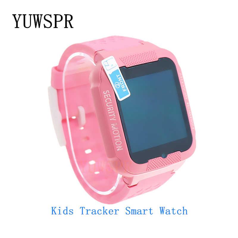 Kids GPS tracker watch Bluetooth camera play music Waterproof Touch screen SOS GPS LBS Location Baby Smart watches Clock K3