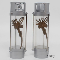 NECA Alien 2 Creature Pack Stasis Chanber LED Light PVC Figure Collectible Toy 13.5cm KT4071