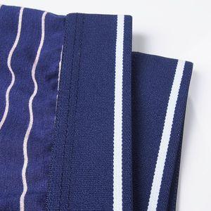 Image 5 - Bokserki męskie modalne bielizna 6 sztuk/partia mężczyźni Boxershorts w paski szary kalesony ubrania oddychające elastyczne spodnie męskie cuecas