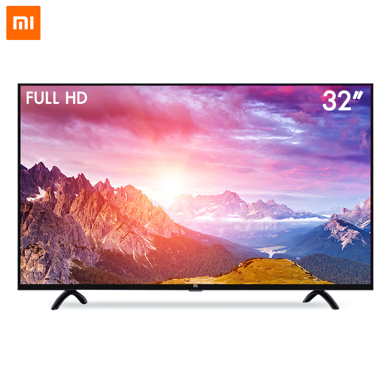 2017 Xiaomi Smart TV Set 4A 32 inch 1366x768 Television 64-bit quad-core Artificial Intelligence HDMI WIFI 1GB+4GB game display