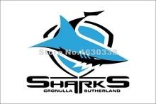 Cronulla Sharks Flag 3ft X 5ft National Rugby League NRL Banner Size 4 144* 96cm Flag
