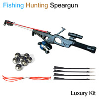 Slingshot Hunting Fishing Bow Powerful Catapult Support Fishing Reel Multi function Steel Ball Ammo Arrow Shooting Fishing Rod