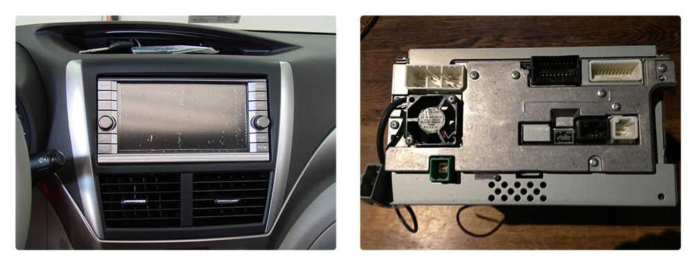Dasaita DYX029 araç DVD oynatıcı Ses Kablo Demeti Adaptörü ile Subaru Forester için Keenwood Orijinal Radyo 2008-2012