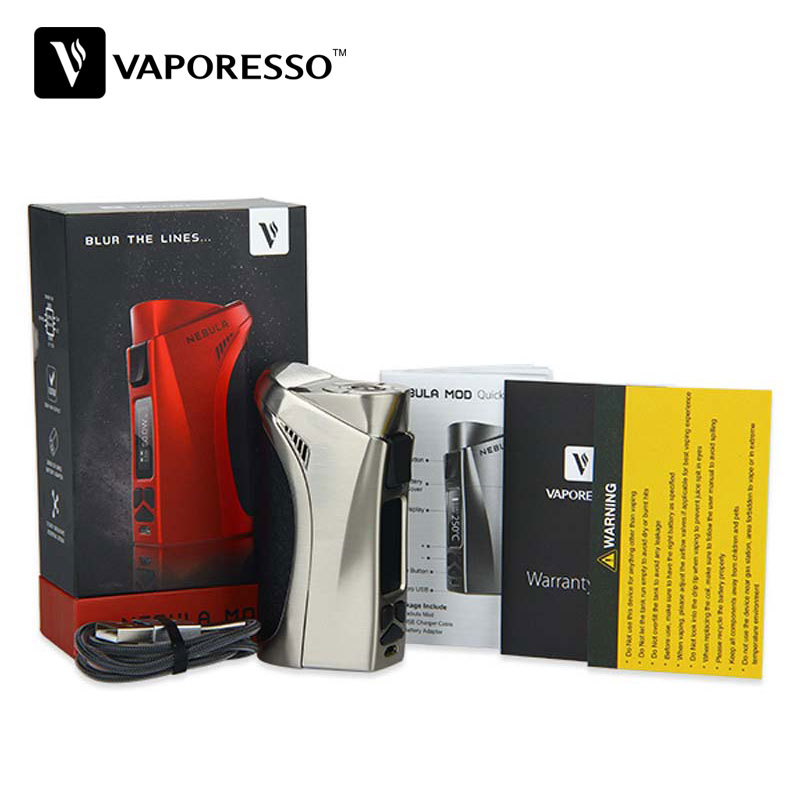 Original 100W Vaporesso Nebula TC Box MOD with Built in OMNI Board Electronic Cig Temp Control