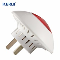 Wireless Flashing Indoor Flash Siren Trobe Siren For KERUI Alarm System Alarm Siren Burglar Siren