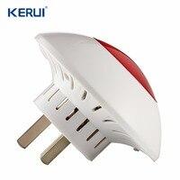 KERUI J009 Indoor Siren 100m Sound Light Siren Volume Wireless Strobe Siren For G18 G19 W1 W2 GSM WIFI PSTN Home Alarm System