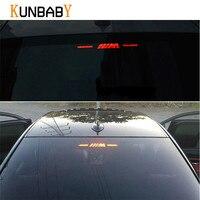 KUNBABY Brake Light Sticker For BMW M Logo E46 E90 E91 E92 E93 F30 F31 F35