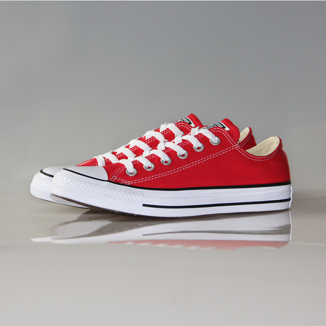 Original Converse classic all star canvas shoes men and women sneakers low classic Skateboarding Shoes 4 color 2