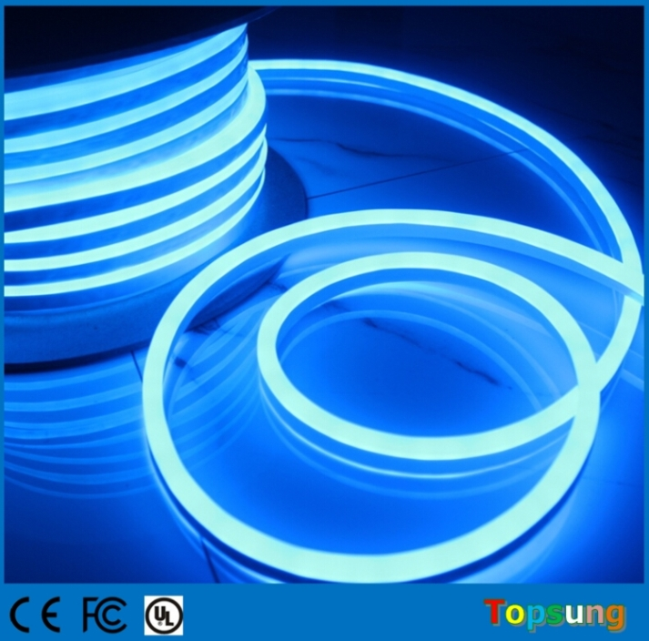 50M DC24V LED Neon Tube Lighting 8.5*17mm Ultra Slim Flexible Neon Lighting IP67 Waterproof Outdoor Neon Shop Signs ...