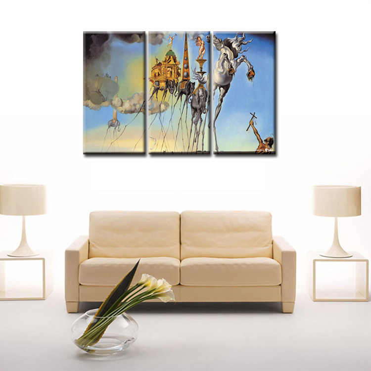 3 Pieces/set Abstract poster series Canvas Painting living room Room Decoration Print Canvas Pictures Framed/Abstract (71)