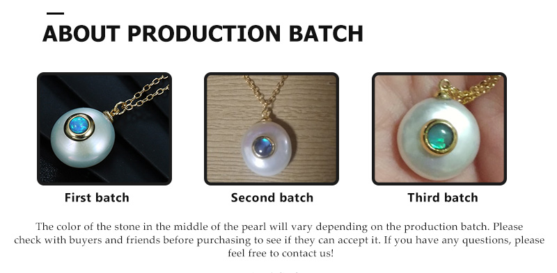 HTB1LuePa.LrK1Rjy0Fjq6zYXFXa0 Hongye 2019 New Fashion Freshwater Pearl Necklace Women 925 Sterling Silver Chain 12mm Pearl Pendant  Jewelry Necklace For Gift