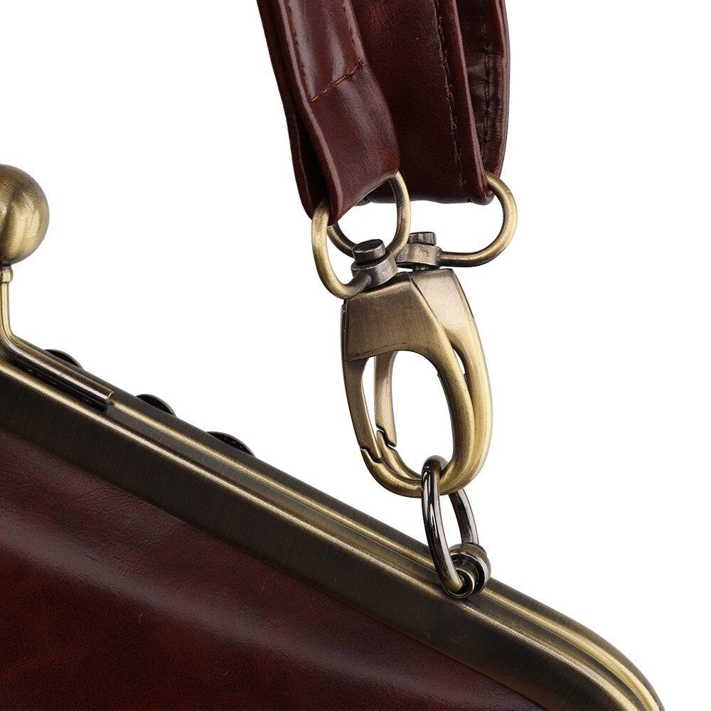 Sca Qualità Main Retro Sacchetto Di Del 75 Borse Ragazze Donne Messaggero Borsa Il Tracolla Lusso Piccola Alta A brown Le Cuoio Per Nero Delle xfpqUwF