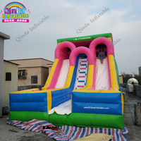 0.55 mm PVC New Products Inflatables Slide Kids Toys Giant Slide For Sale With Free Air Blower