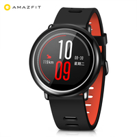 Original English Version Xiaomi Huami AMAZFIT Bluetooth 4.0 Heart Rate Monitor Sports Smart Watch GPS Real Time Track Waterproof