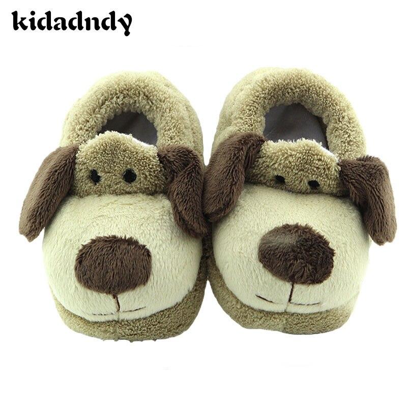 Modelos de Invierno de la felpa Zapatillas Bebé Zapatos Zapatos Cómodos Para Niñ