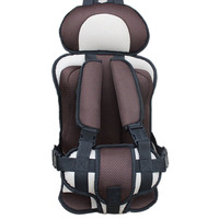 High Quality Kids Car Safety Seat Infant Mesh Seat Cushion Adjustable Belt Chair Carrier Comfortable Portable