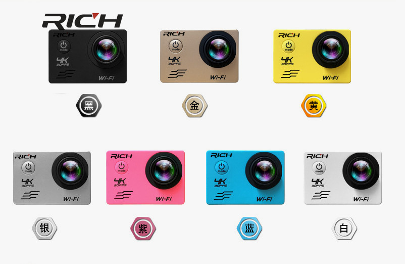 J550 Sport Kameras 4 Karat 2,7 Karat 1080 P Action Kamera 16mp Wifi Sport Kameras 30 Mt Wasserdichte 2.0lcd Full Hd Dvr 170 Hinzufügen Speicherkarte Unterhaltungselektronik