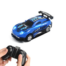 Rc Wall Climbing Car on Remote Control Anti Gravity Ceiling Racing Car Electric Toys Machine Auto Mini RC Car Toys for Children(China)