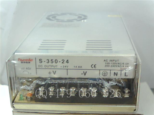 цена на [ZOB] Heng Wei switching power supply S-350-24 24V14.6A