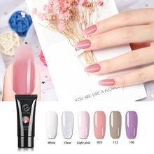 Gelike  60ml Poly Gel Nail Slip Solution Acrylic UV Builder Extended Crystal Varnish Soak Off Lacquer