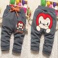 Crianças calças de algodão de modelos de inverno mais grossa de veludo calças crianças calças criança infantil pode abrir arquivos