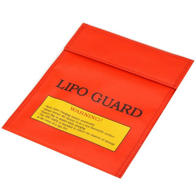 Wholesale 5X  2 X High quality RC LiPo Battery Safety Bag Safe Guard Charge Sack 22 * 18 cm / 8.3 * 7.09 in