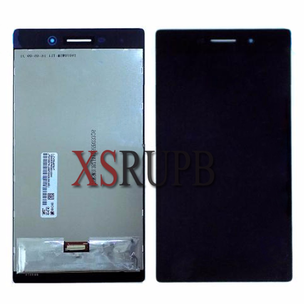 7inch Lcd display+Touch For Lenovo Tab 3 Tab3 TB3-730X TB3-730M Lcd display+Touch Panel Glass Digitizer Assembly free shipping lcd display screen touch digitizer assembly for lenovo k900 free shipping