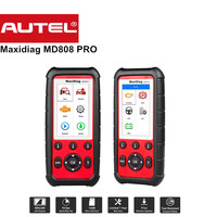 Autel Maxidiag MD808 PRO Alle Systeem Diagnsotic tool OBDII Scanner ondersteuning BMS/Olie Reset/SRS/EPB/DPF Beste Handheld Auto Scanner
