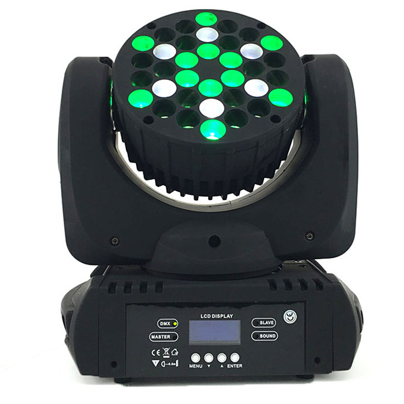 New Design LED 36x3w Beam Moving Head RGB DMX Stage Light Effect Light fixture for DJ Party Disco Nightclub Bar 6pcs lot white color 132w sharpy osram 2r beam moving head dj lighting dmx 512 stage light for party