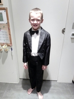 2017 Boys suits for weddings Kids Prom Suits Black/White Wedding Suits for Boys Tuxedo Children Clothing Set Boy Formal Costume